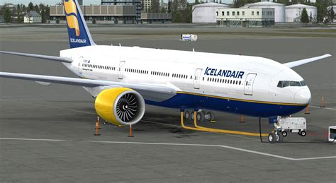 Herpa Airlines Boeing 777 200lr H528115 icelandair boeing 777 200lr for fsx