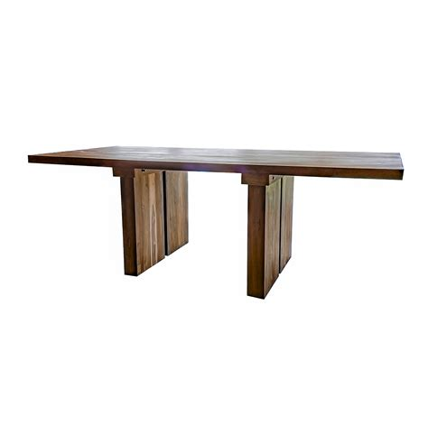 Recycled Timber Dining Tables Unique Solid Reclaimed Wooden Dining Table With Solid Legs