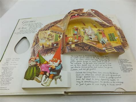 the up books the pop up book of gnomes written by huygen wil stock