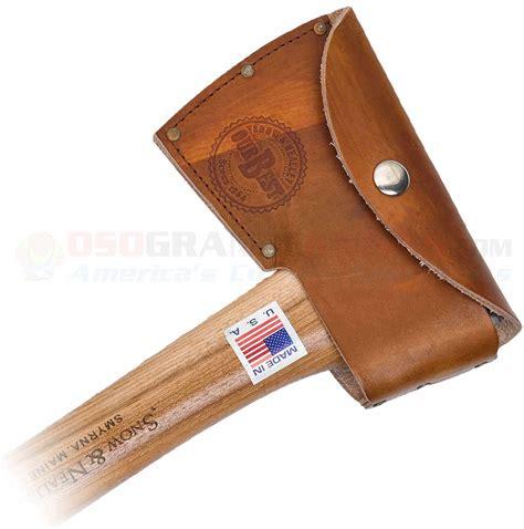 snow and nealley hatchet snow nealley outdoorsmans belt axe osograndeknives