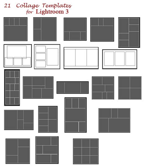 lightroom templates free printable collage templates quotes