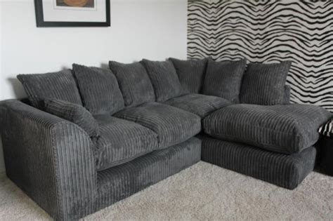 Scs Leather Corner Sofas Scs Jumbo Cord Corner Sofa Grey Brand New 163 300 On Gumtree Brand New Scs Grey Jumbo Cord Corner