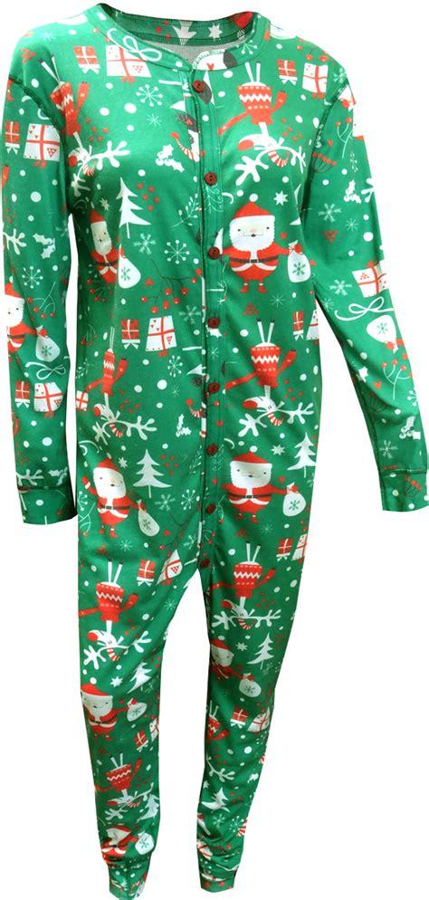 mens drop seat pajamas webundies santa union suit pajama with drop seat