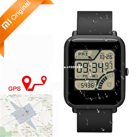 Xiaomi Huami Amazfit Pace International Version Smart original xiaomi huami amazfit bip bit pace lite youth