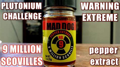 mad 357 plutonium mad 357 plutonium 9 challenge 9 million scovilles pepper extract freakeating vs
