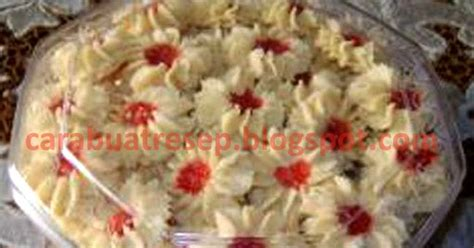 cara buat kue kering mawar cara membuat kue kering semprit mawar resep masakan