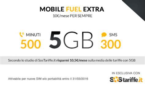 fastweb mobile numero con sostariffe it tariffa con 5gb a 10 per