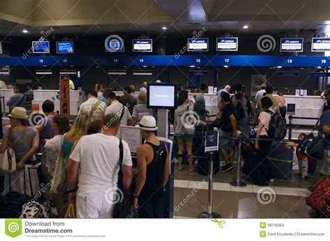 lost bags at united airlines luggage counter editorial departures hall at an airport editorial stock image