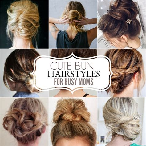 easy to maintain haircuts for moms cute easy hairstyles for busy moms hairstyles