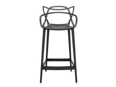 kartell bar stools buy the kartell masters bar stool black at nest co uk
