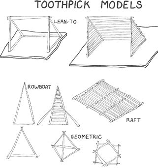 Toothpick Crafts For Kids Arts And Crafts With Toothpick House Plans