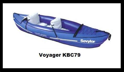 canoes warrington sevylor voyager kbc79 new 2 man canoe kayak