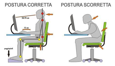 sedia postura salute della schiena qual 232 la postura corretta