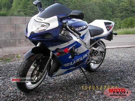 2001 Suzuki Gsx 750 Suzuki Gsx R 750 2001 Specs And Photos