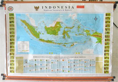 Atlas Indonesia Dunia 34 Provinsi peta indonesia 34 provinsi terbaru 2017 cv trijaya abadi