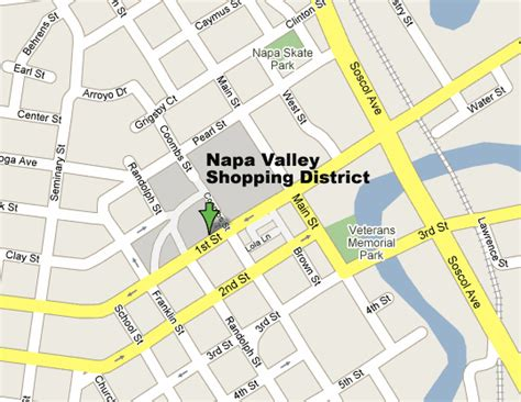 san francisco napa map napa valley shopping map sf bay are shopping districts