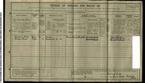 1911 Census Address Search Richard 1840
