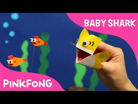 baby shark download download i m an origami baby shark puppet animal songs