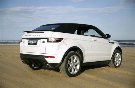land rover convertible land rover range rover evoque convertible driven range
