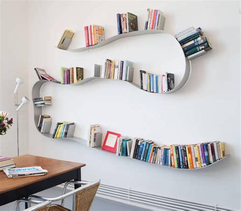 Rak Buku Dinding Kamar 13 desain rak dinding minimalis tempel unik untuk foto