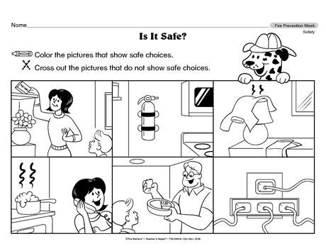 unsafe things at home 17 best images about safe and unsafe worksheets for kids