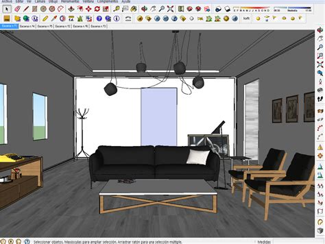 sketchup layout interior design interior design sketchup interiors decoration idea