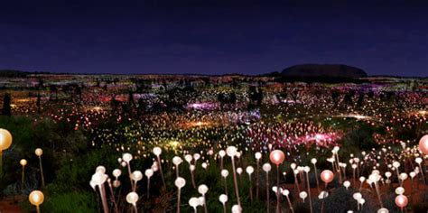 a at field of light visit this magical field of light for an unforgettable