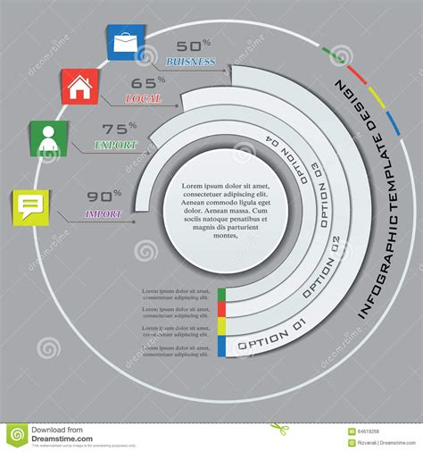 what is the purpose of a web diagram multi purpose infographic vector design template stock