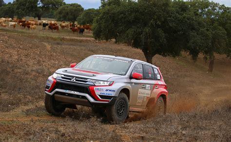 2015 mitsubishi rally car outlander phev unleashed as baja portalegre 500 cross