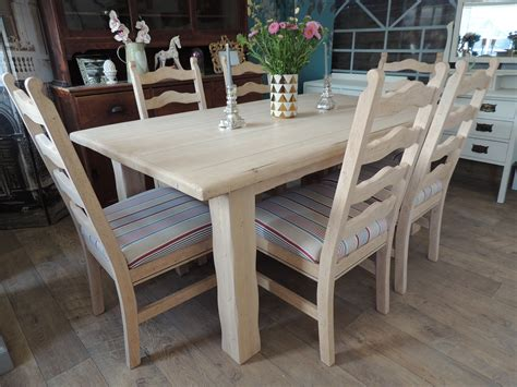 Farmhouse Dining Table And 6 Chairs Lovely Rustic Farmhouse Style Dining Table With Six Chairs Eclectivo Furniture With Soul