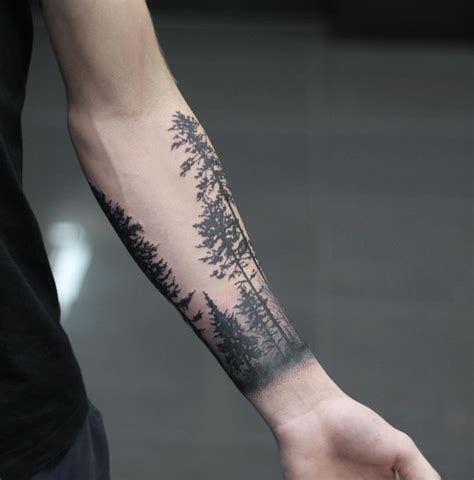forearm forest tattoo forest sleeve designs ideas and meaning tattoos
