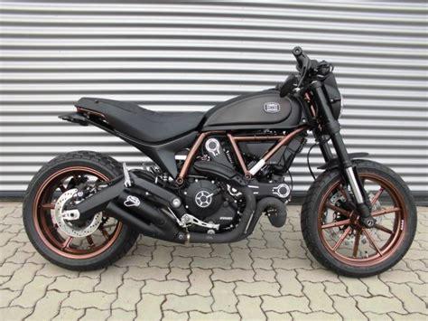 Motorrad Scrambler by Umgebautes Motorrad Ducati Scrambler Throttle