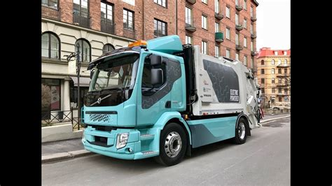 volvo electric truck 2019 introducing the volvo fl electric and the impact of