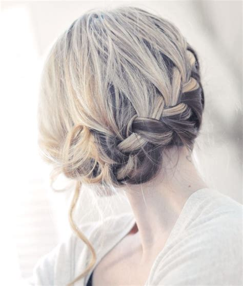 braided updo wedding hairstyles bridal braids summer wedding hairstyles onewed