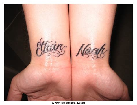 tattoo designs for children s names cool ideas children s names 1