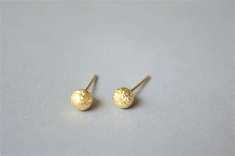 simple gold silver stud earrings daily wear jewelry