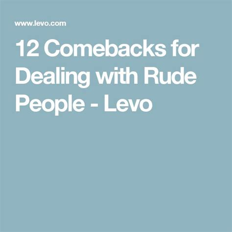 7 Ways To Deal With Rude At Work by 572 Best Images About Humor And Inspiration On
