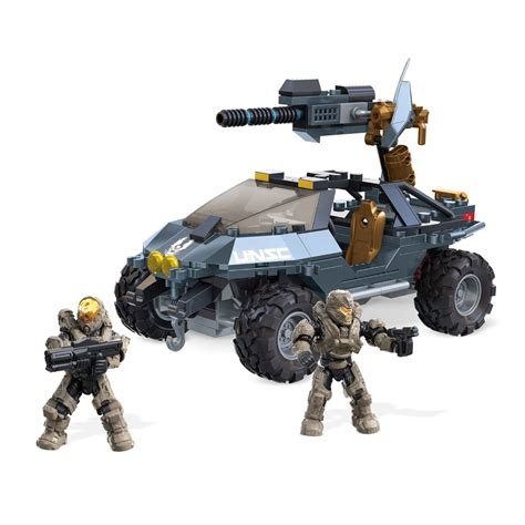 Mega Bloks Halo Dual Mode Unsc Warthog At Hobby Warehouse
