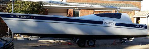stiletto catamaran interior 1979 27 stiletto stiletto