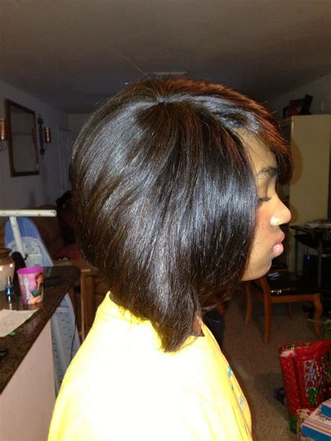 quick weave bob hairstyles pictures feathered bob quick weave pictures short hairstyle 2013