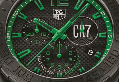 Tag Heuer F1 Cr 7 Edition Black Steel Yellow Tag Heuer Launches Formula 1 Chronograph Cristiano Ronaldo