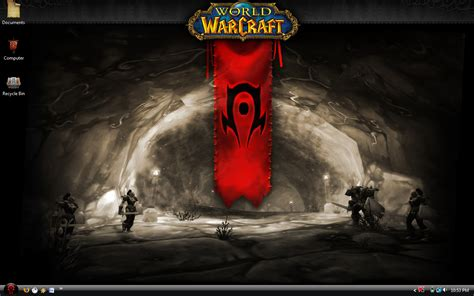 theme windows 7 world of warcraft world of warcraft horde theme by nopd11 on deviantart