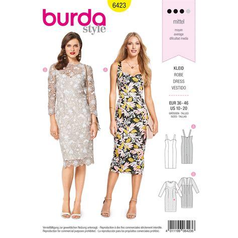 pattern review weekend 2018 burda burda style pattern b6423 misses summer strap dresses
