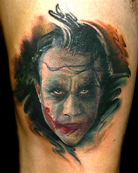 tattoo pics of the joker well formed joker tattoo