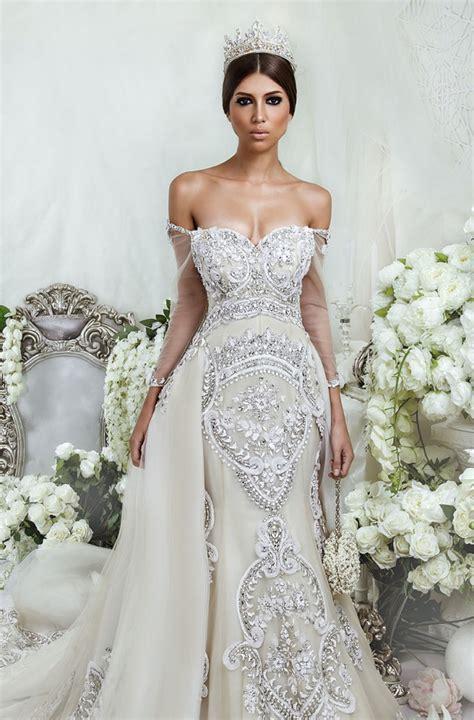 Gl Swarovzki Bola vestidos de novia glamorosos por dar vestidos mania