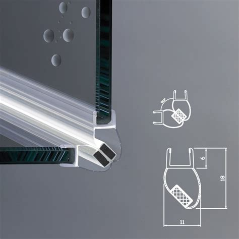 guarnizione box doccia guarnizione magnetica box doccia per vetri di spessore da