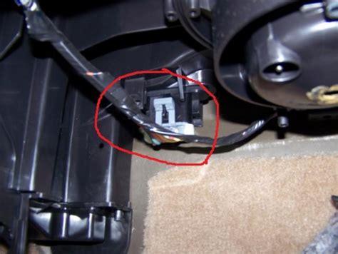 hyundai xg350l blower motor resistor location hyundai blower motor resistor
