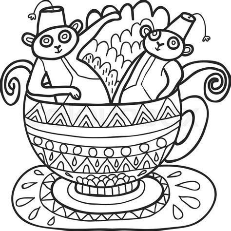 capuchin monkey coloring pages capuchin coloring download capuchin coloring