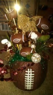Football Banquet Decorations by Football Centerpieces Graduation Ideas
