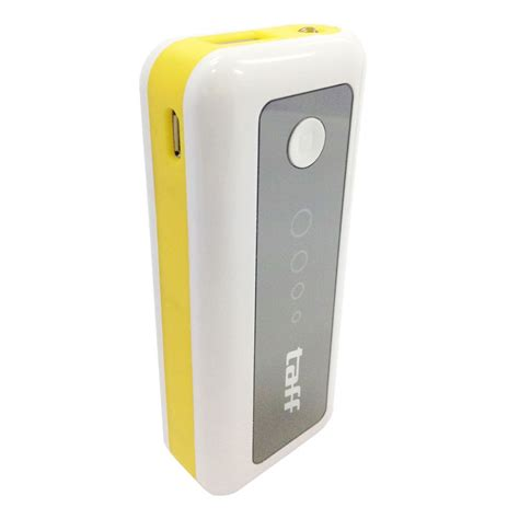 Power Bank Taff taff power bank 5200mah model mp5 no box for tablet and smartphone mp5 white with yellow